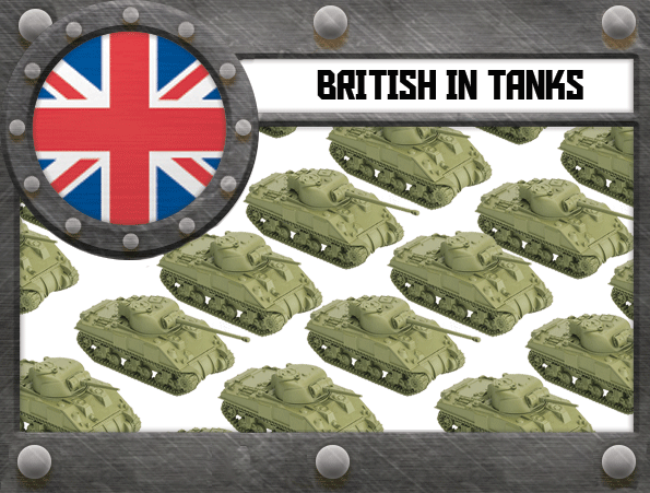 British in TANKS