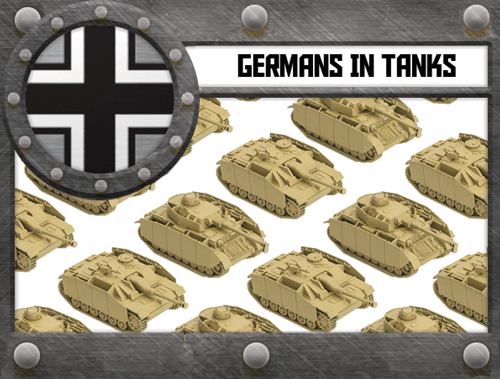 Germans in TANKS
