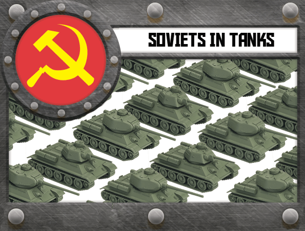Soviets in TANKS