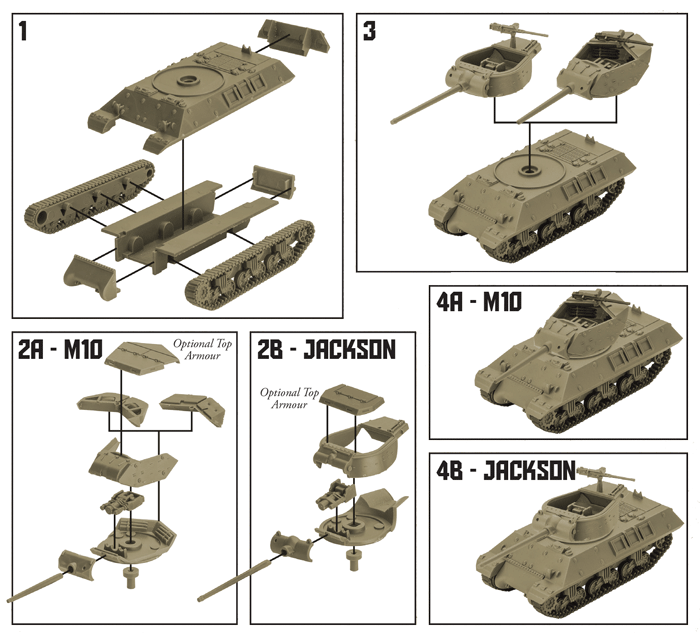US Jackson (M10/M36) Tank Expansion