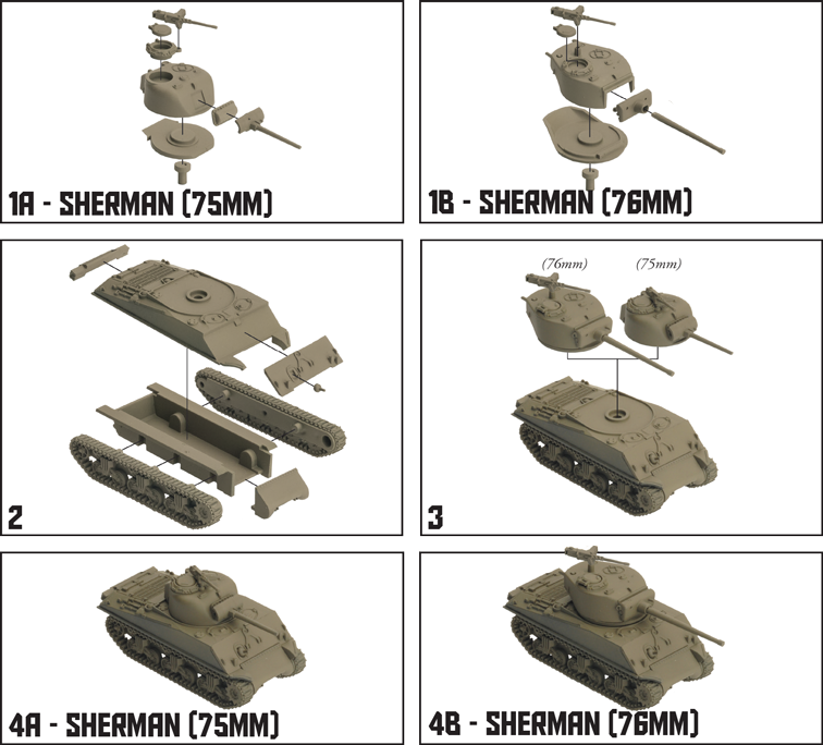 Panther vs Sherman Starter Set (TANKS01)