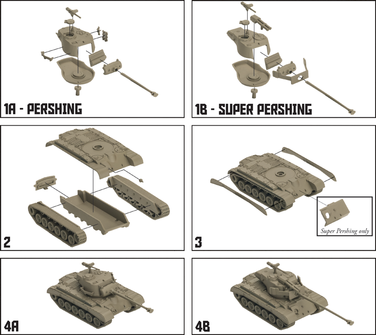American Pershing Tank Expansion