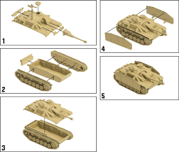 German StuG G Tank Expansion
