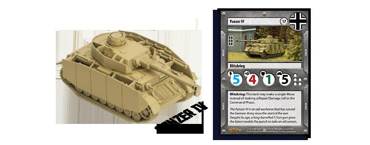 German Panzer IV Tank Expansion