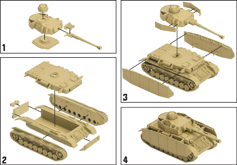 German Panzer IV Tank Expansion