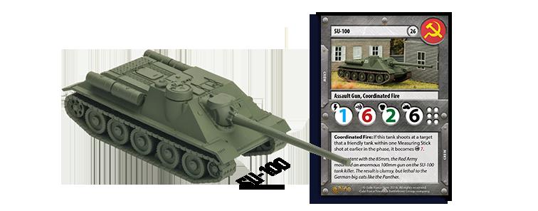 Soviet SU-100 Tank Expansion