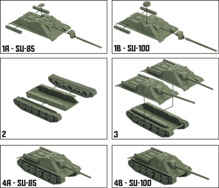 Soviet SU-100 Tank Expansion