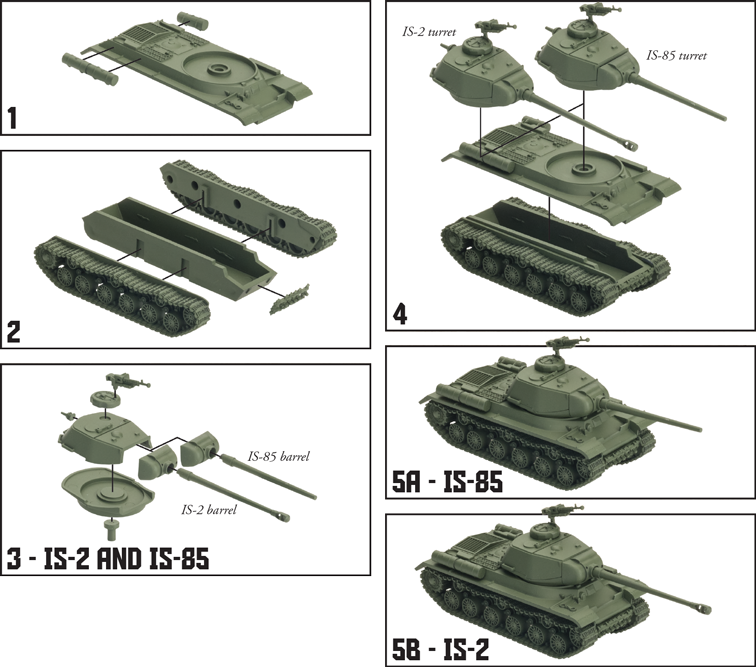 Soviet IS-2 Tank Expansion