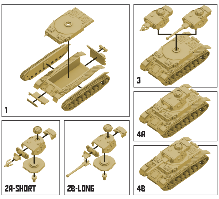 German Panzer IV 7.5cm Tank Expansion