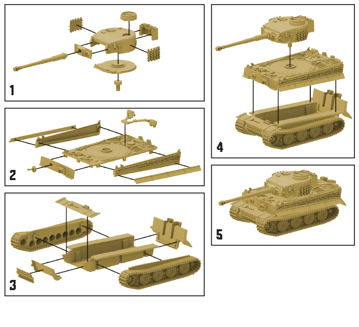 German Tiger Tank Expansion