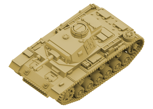 German Panzer III 5cm Tank Expansion