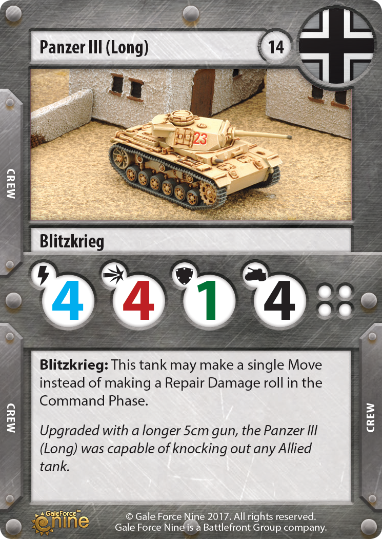 German Panzer III 5cm Tank Expansion