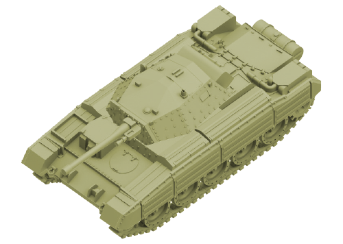 British Crusader II/III Tank Expansion