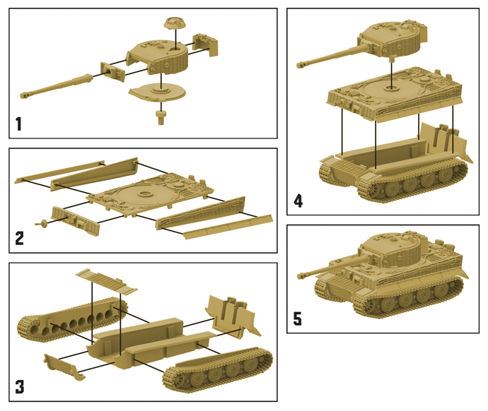 German Tiger 1 Tank Expansion