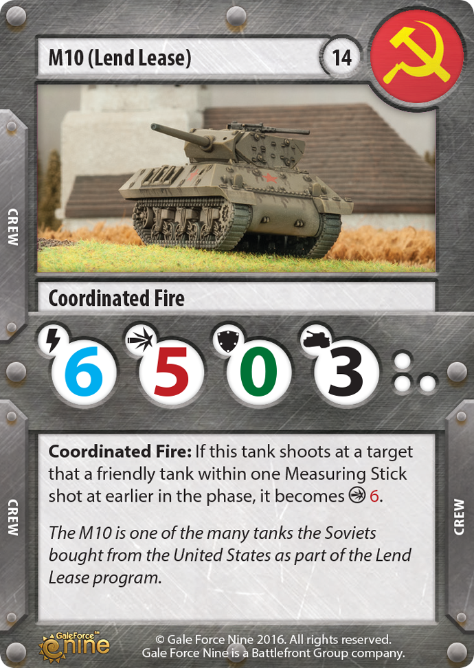 Soviet Lend Lease M10 Tank Expansion