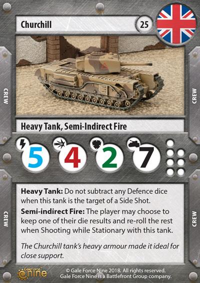 British Tanks Preview