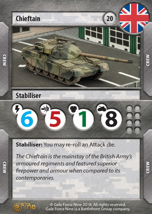Chieftain Tank Expansion