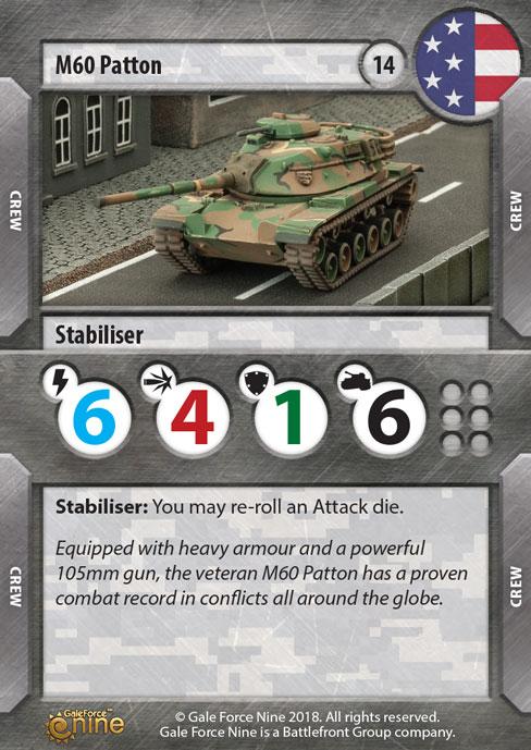M60 Patton Tank Expansion