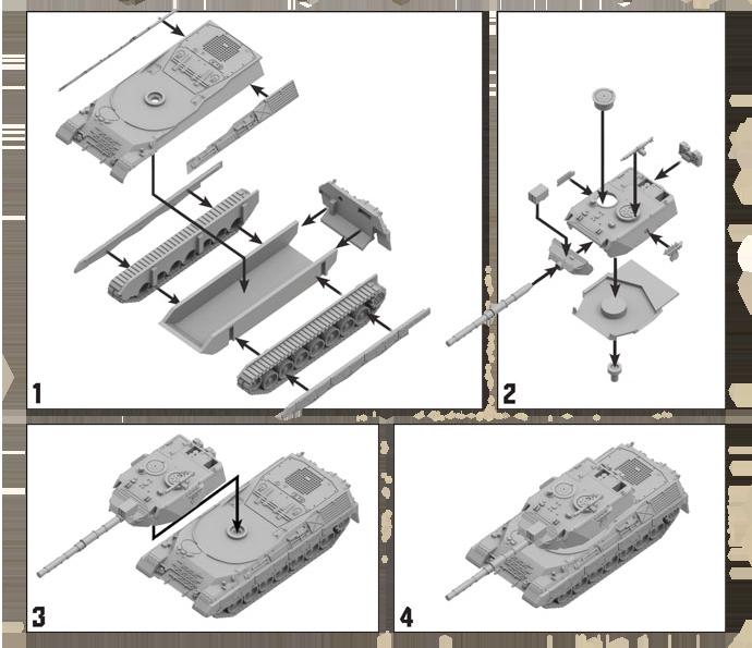 Leopard 1 Tank Expansion